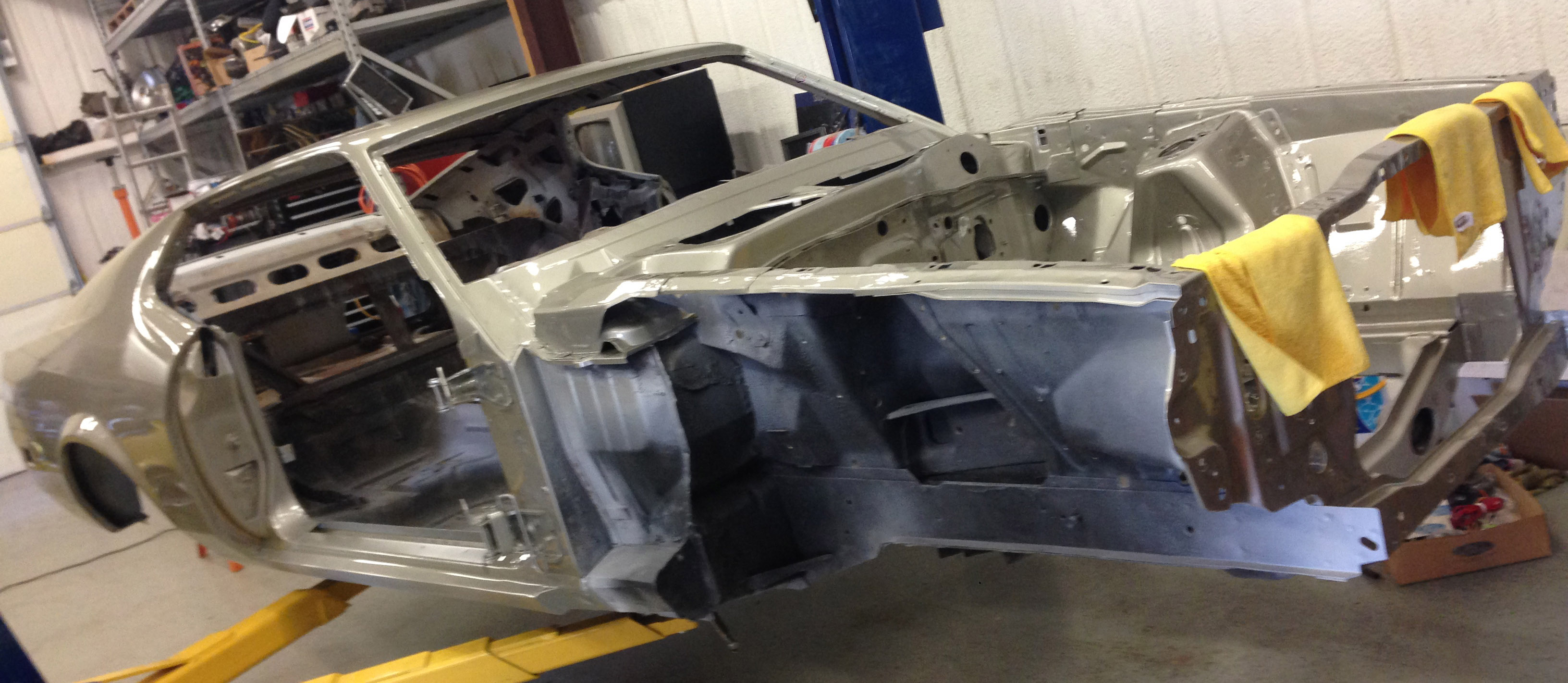 1971 Ford Mustang body work